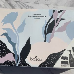 BRAND NEW! Boscia Dig Deep The Charcoal Skin Kit